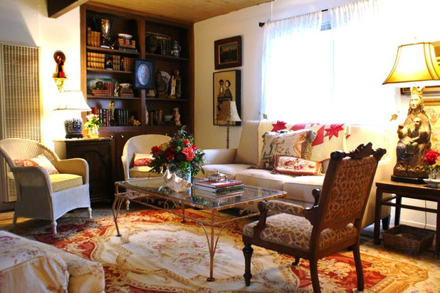 Traditional Living Room by Becky Dietrich, Interior Designer