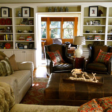 Eclectic Living Room by the redesign company