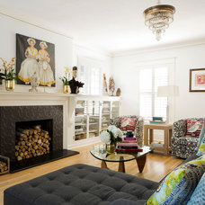 Traditional Living Room by Lynne Parker Designs