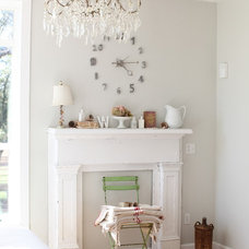 Rustic Living Room by Dreamy Whites