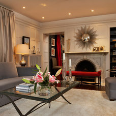 Contemporary Living Room by Emily Griffin Design