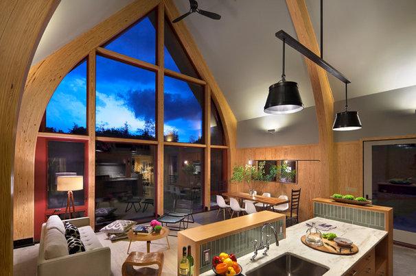 Modern Living Room by BarlisWedlick Architects, Tribeca Studio