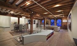 Hudson River Duplex Living Area
