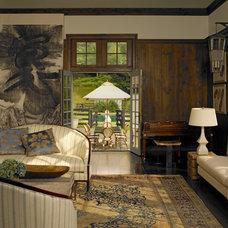 Traditional Living Room by Kathryn Scott Design Studio Ltd