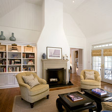 Traditional Living Room by Jeff Wilkinson, RA