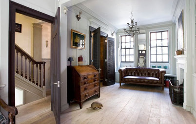 Houzz Tour:  Redo Brings a 1720s London Home Into the Present