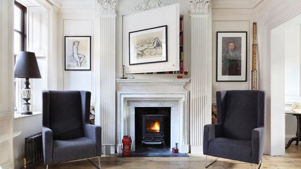 Sekelskiftes Vardagsrum by Chris Dyson Architects