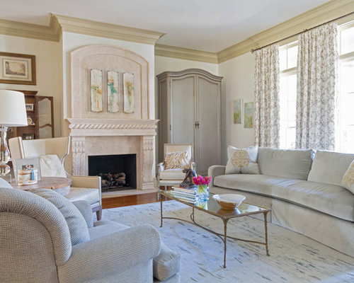 Traditional New Orleans Living Room Design Ideas Remodels Photos Houzz