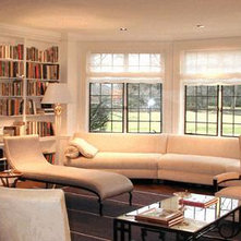 Traditional Living Room by Dineen Architecture + Design