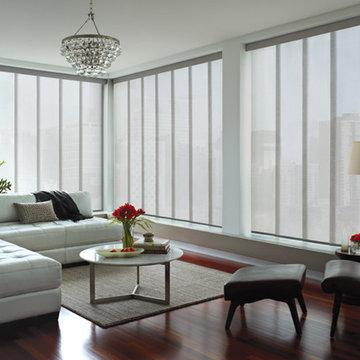 Hunter Douglas® Skyline® Gliding Window Panels