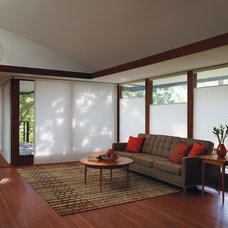 Traditional Living Room by Accent Window Fashions LLC
