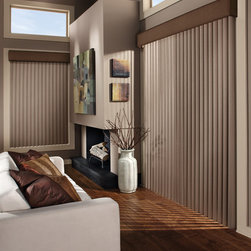 Hunter Douglas Full Product Line - Hunter Douglas Cadence Soft Vertical Blind- Today's Window Fashions Andover
