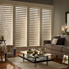 Traditional Living Room by Homestead Window Treatments