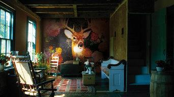 Hunter Mural available at NewWall