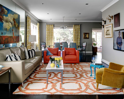 Contemporary Living Room Design Ideas, Renovations & Photos
