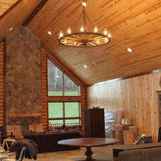 Living Room by alpha omega western furn inc
