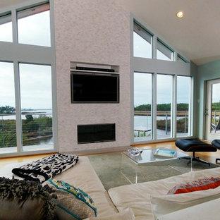 Hurricane-Proof Home on Pilings (Stilt House) - Living Room