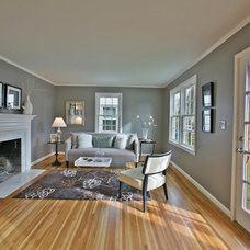 Traditional Living Room by Jen Beasley Design
