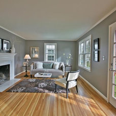 Traditional Living Room by Hermes Bros. LLC
