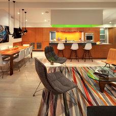 Contemporary Living Room by hughesumbanhowar architects