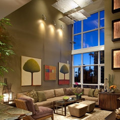 contemporary living room by James Patrick Walters