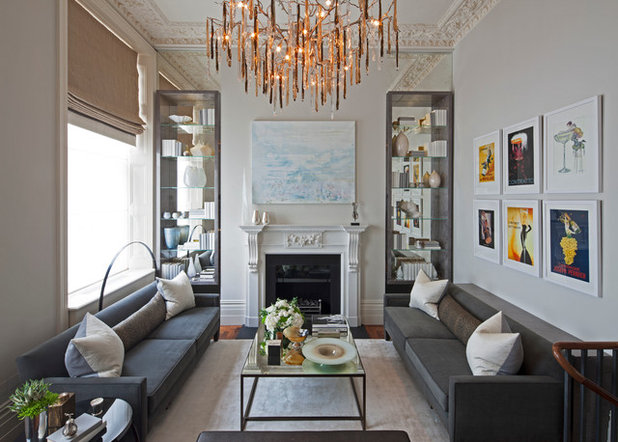 Contemporary Living Room by Intarya