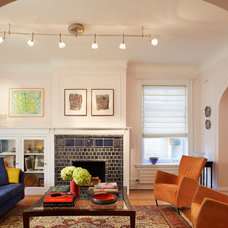 Traditional Living Room by Mia Rao Design