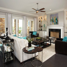 Contemporary Living Room by IBB Design Fine Furnishings