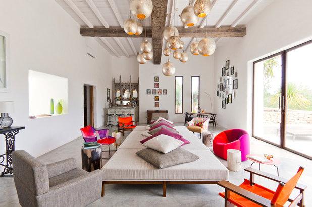 Eklektisk Vardagsrum by Godrich Interiors