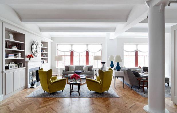 Современный Гостиная by WUNDERGROUND architecture + design
