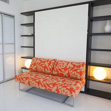 Contemporary Bedroom by Cardenas+Kriz design studio