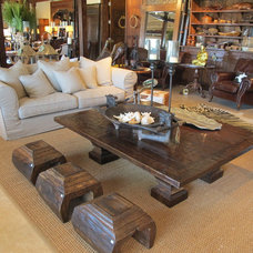 Eclectic Living Room by Idlewild Furnishing