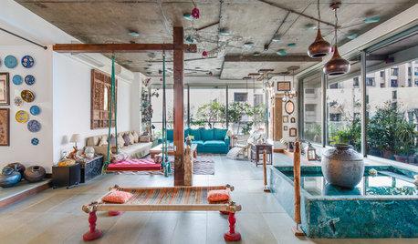 伝統工芸をコンテンポラリーなセンスで。インドの名優イルファーン・カーンの自宅拝見