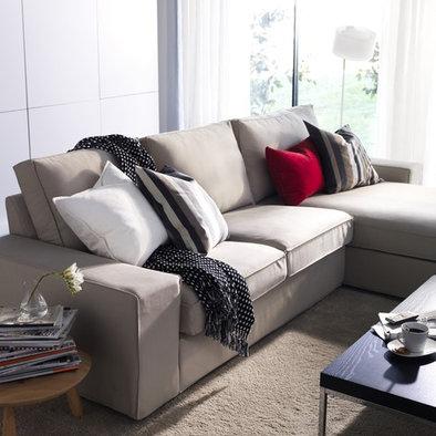 Sofa gris claro