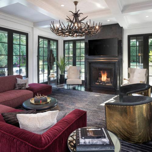Contemporary Living Room Design Houzz: Contemporary Living Room Ideas & Design Photos