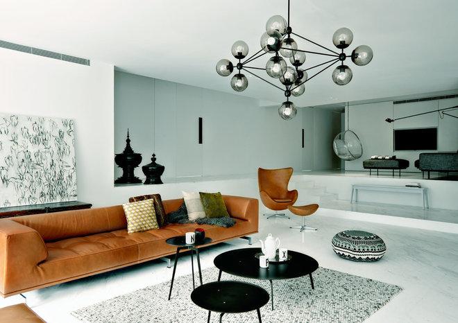 Contemporary Salon by SPACEDGE