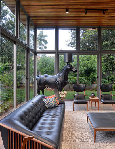 Contemporary Living Room by S A K Designs