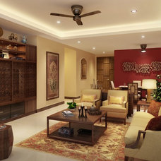 Contemporary Living Room by Arklinks Consulting Shanghai