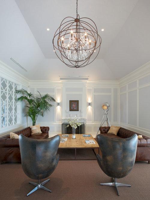 Lampa Hat Chandelier Living Room Design Ideas, Remodels & Photos ...
