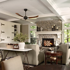 Traditional Living Room by Casa Verde Design