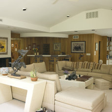 Eclectic Living Room by Moon Bros Inc