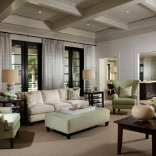 Traditional Living Room by Pineapple House Interior Design