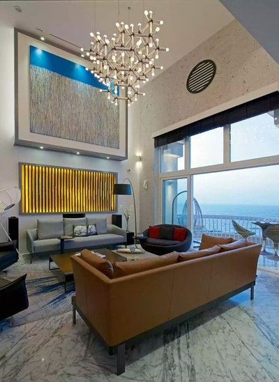 Indian Living Room by Arccon Buildtech Pvt Ltd.