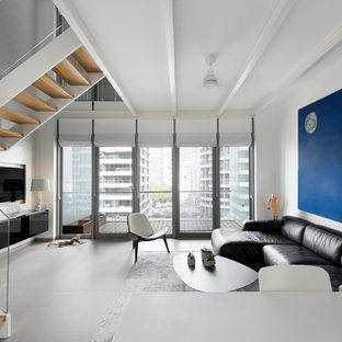 75 most popular modern new york living space design ideas. Black Bedroom Furniture Sets. Home Design Ideas