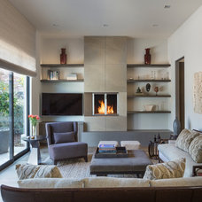 Contemporary Living Room by Scheinholtz Associates