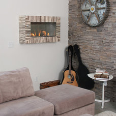 Contemporary Living Room by Terra Flame Home