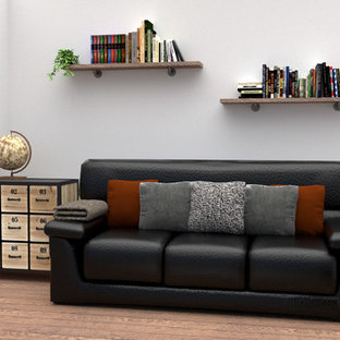 Industrial-Chic Lounge