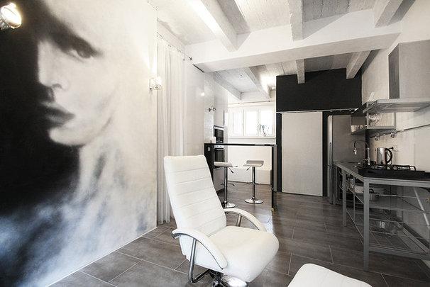 Modern Living Room by KYZLINK