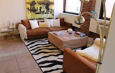My Houzz: Industrial L.A. Loft Sparkles and Shines