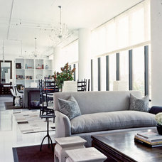 Industrial Living Room by Andrew Flesher Interiors